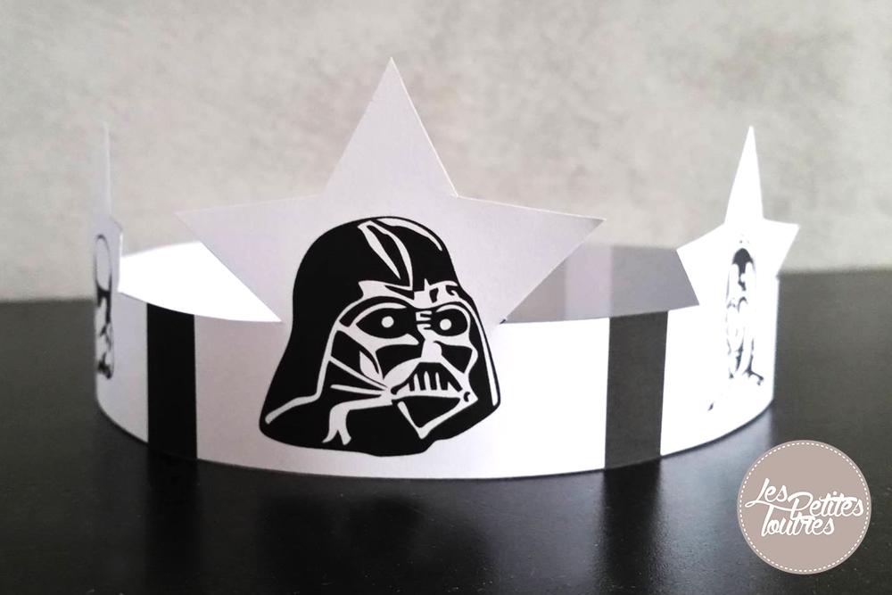 Couronne star wars imprimer free printable les - Couronne a colorier et imprimer ...