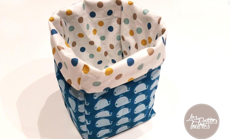 Couture archives page 2 sur 2 les petites loutres - Tuto panier tissu rigide ...