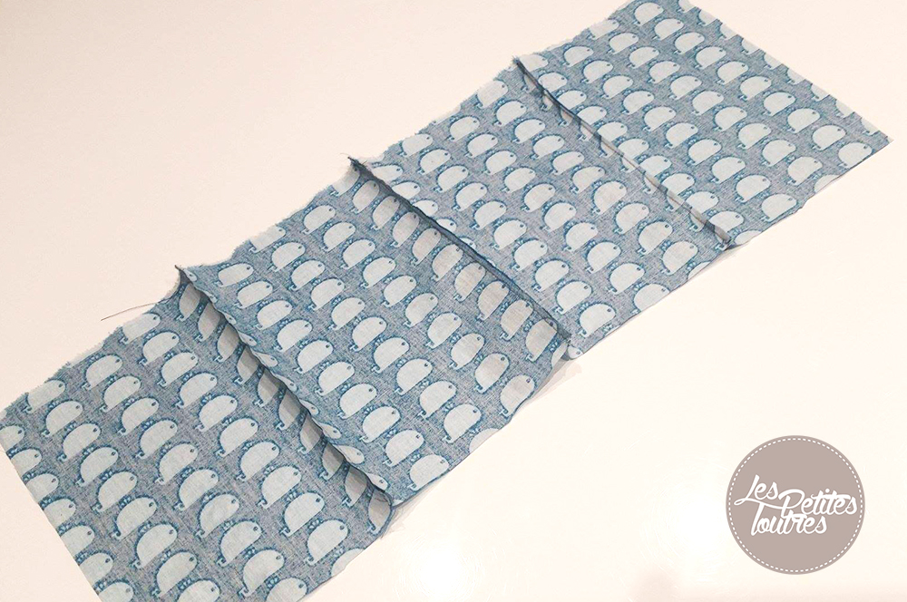 Panier en tissu r versible tuto de couture les petites loutres - Tuto panier tissu rigide ...