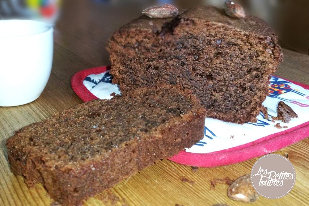 recette de cake au chocolat