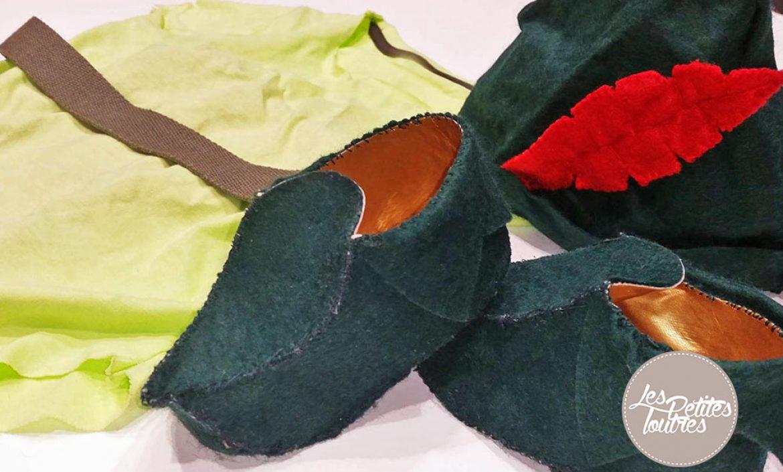 Couture archives les petites loutres - Deguisement peter pan enfant ...
