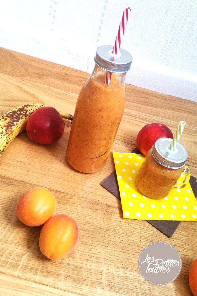Smoothie-Banane-Abricot-Nectarine