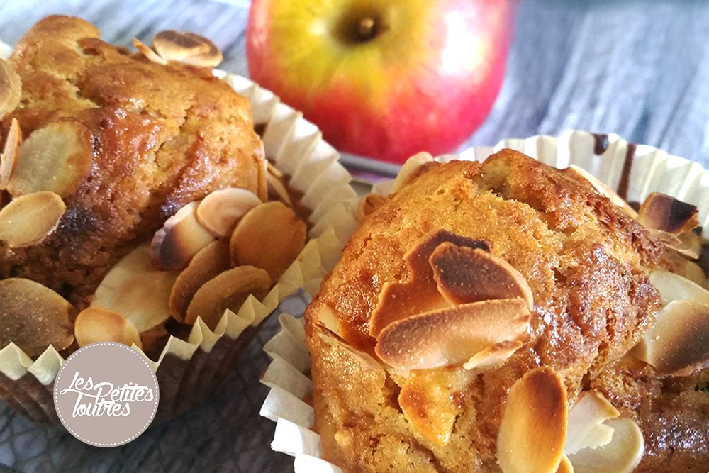 Muffin-Pomme-Amande