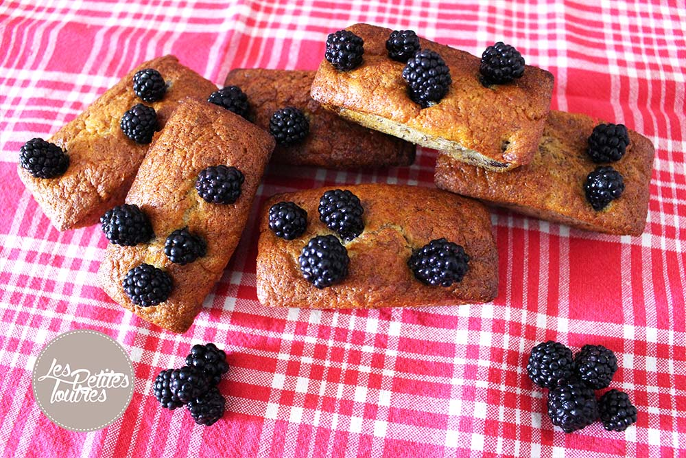 Muffin-Banane-Mures